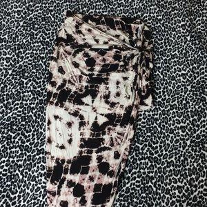 Printed stylish maxi skirt